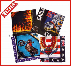 100% Cotton Fashion Printed Eagle Bandana pictures & photos