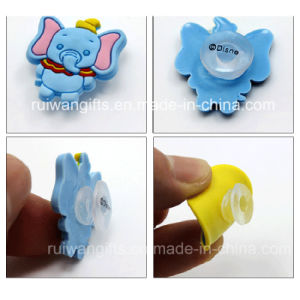 Elephant Soft PVC Kids Shoe Buckles pictures & photos