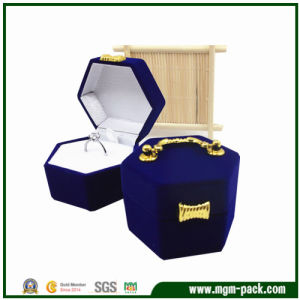 Special Design Hexagonal Plastic Jewelry Box pictures & photos