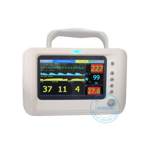 7 Inch Veterinary Multiparameters Monitor with ECG Monitor (Capno-70) pictures & photos