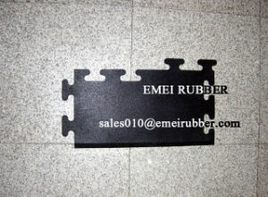 Flexible Jointing Floor Rubber Tile Mat Paver pictures & photos