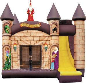 Wizard′s Castle Bounce House with Slide 4 in 1