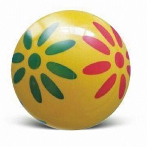Spray Paint Inflatable Ball in Fashionable Design, Made of PVC