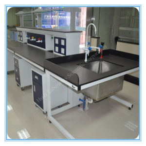 2015 New Design China School Steel Biological Lab Table pictures & photos