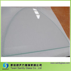 Special Shape Tempered Glass for Lighting