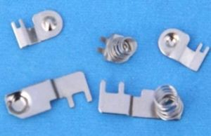 Spring Electrical Contacts Custom Metal Stamping pictures & photos