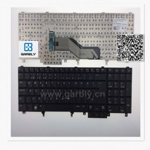 Ge Layout Laptop Keyboard for DELL E5520 E6520 M4600 M6700