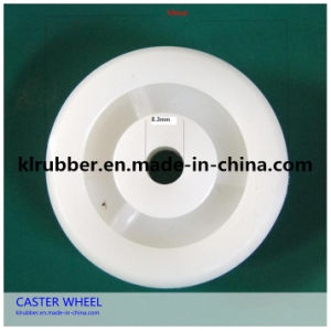 White Medium Duty Nylon Wheel Castor for Trolley pictures & photos