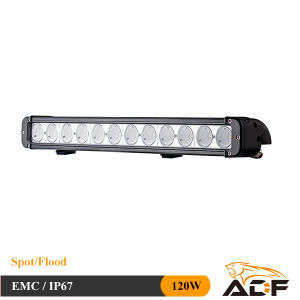 CREE 120W IP67 off Road Single Row LED Driving Light for Jeep, 4X4, ATV, Boat, Truck LED Light Bar