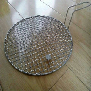 Stainless Steel Crimped Barbecue Grill Wire Mesh pictures & photos
