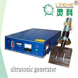Ultrasonic Continuous Welding Generator, Transducer and Horn for Tooth Bag