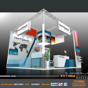Trade Show Booth & Exhibition Stand Contractor for Optic Fair in Shanghai