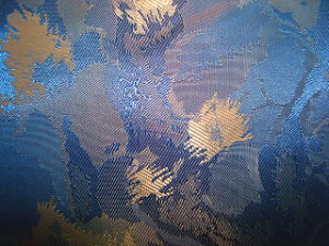 Polyester Jacquard Twill Fabric pictures & photos