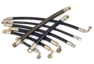 Hydraulic Hose Assemblies Hydraulic with Bsp Jic Hydraulic Crimped Fittings pictures & photos