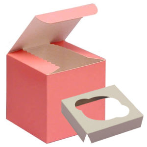 Food Grade Cupcake Box/Cake Box/Food Boxes pictures & photos