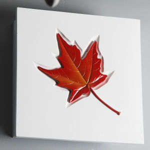 CE RoHS Maple Leaf Wall Lamp Fixture (MW-8170)