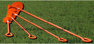 Steel Ground Anchor, HDG Steel Earth Auger