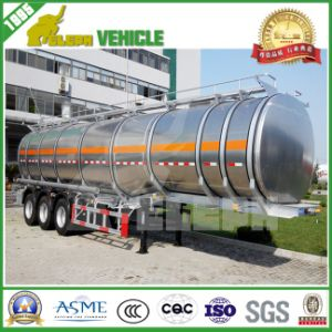 Three or Four BPW Axles Tanker Type Aluminum Trailer