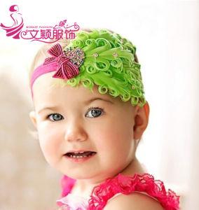 China Cute Baby Headband Baby Crochet Headband Baby Feather