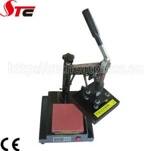 china manual sublimation logo printing machine for leather china