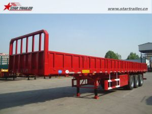 High Bed Drop Side Semi Trailer with Posts Available pictures & photos