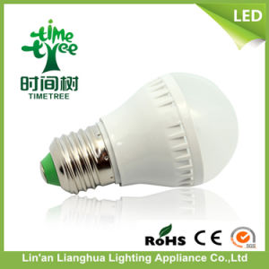 China Supplier A50 1W 3 Watt PC LED Globe Bulb with Frosted Cover pictures & photos