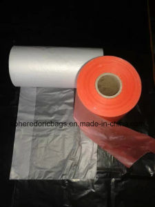 Shopping/Store Usage Packaging HDPE Roll T-Shirt Bag