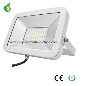 White Case IP65 Ultra-Thin 50W LED Floodlight with 2835SMD PF 0.95 From China pictures & photos