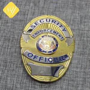 Antique Bronze Factory Grateful Enamel Wholesale Custom Police Badges