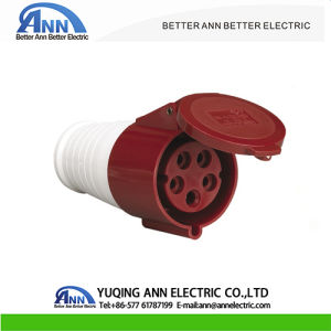 400V 16//32Amp 5Pin Industrial Plugs Or Socket IP44 Male//Female Connector 3P+N+E