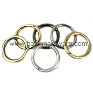 1 1/2 Inch Metal Open Gate Round Ring pictures & photos