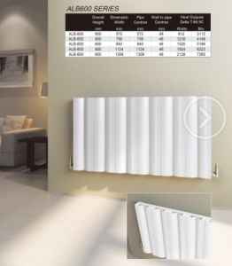 Great New Cast Iron 3 Column Hot Water Radiator White / Decorative Designer  Radiator 3 Column Horizontal
