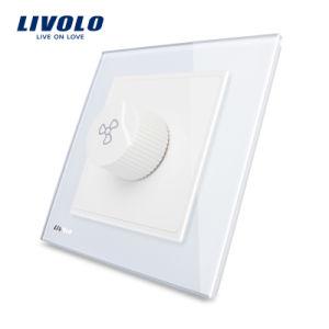 China Luxury Livolo Crystal Glass Universal Wall Fan Speed Switch ...
