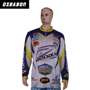 OEM Custom Wholesale Private Label Polyester Fishing Jersey pictures & photos
