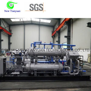 Double-V Type Air Piston Reciprocating Compressor Exported to Russia