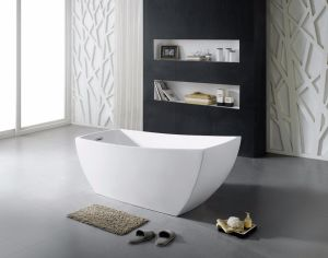 Wholesale Sanitaryware 1690mm Freestanding Acrylic Bathtub pictures & photos
