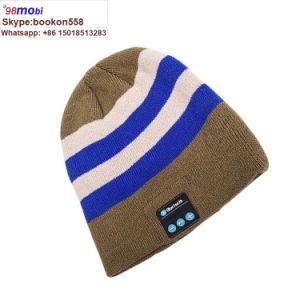 8ce62fc7a Wireless Bluetooth Headphones Music Hat Smart Caps Headset Earphone Cap
