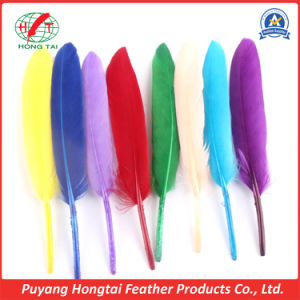 Wholesale Multicolor Decoration Goose Feather for Party and Wedding, 10-15 Cm