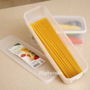 OEM PLA Kitchen Refrigerator Noodle Box Plastic Cover Food Storage Container