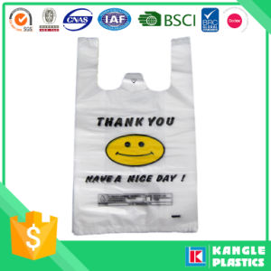 HDPE Thank You Shopping Bags for Grocery pictures & photos