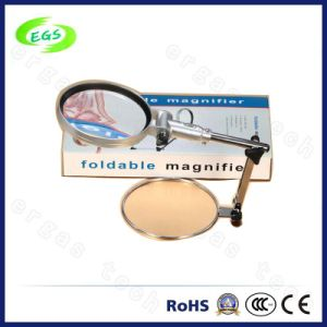 Table/Folding Magnifier with Clear Optical Lens Egs3b-4 to Magnify pictures & photos