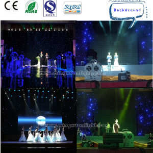 Flexible LED Curtain Display with Twinkle Star Effect pictures & photos
