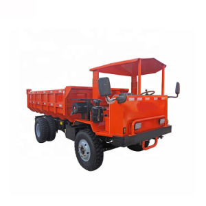 Fuel-Efficient and Durable 4 Wheels Diesel Dumper Truck for Mining