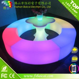 Plastic Bar LED Furniture