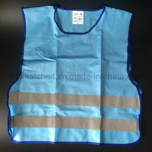 High Visibility Sport Running Riding Blue Reflective Vest pictures & photos