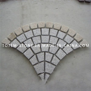 Natural Granite Paving Stone Cobblestone for Driveway Pavers, Walkway