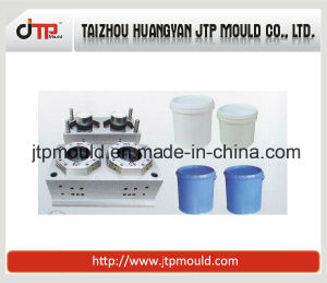 Huangyan 2 Cavities Paint Bucket Mould Injection Moulding pictures & photos