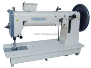 Compound Feed Lockstitch Sewing Machine with Extra Thick Thread pictures & photos