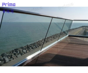 Aluminum U Channel Glass Balcony Raling pictures & photos