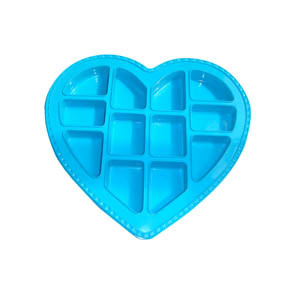 LFGB Silicone Customized Heart Shap Cake Mould pictures & photos